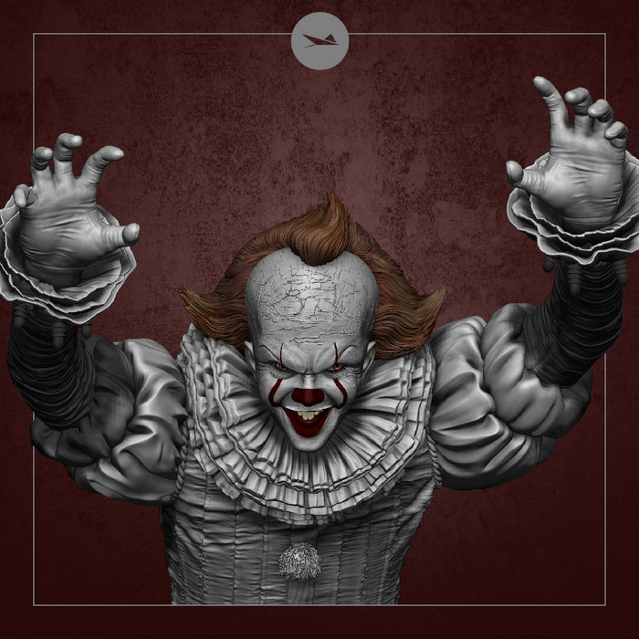 Stingrayz - Pennywise 19-inch Statue (Pre-order)