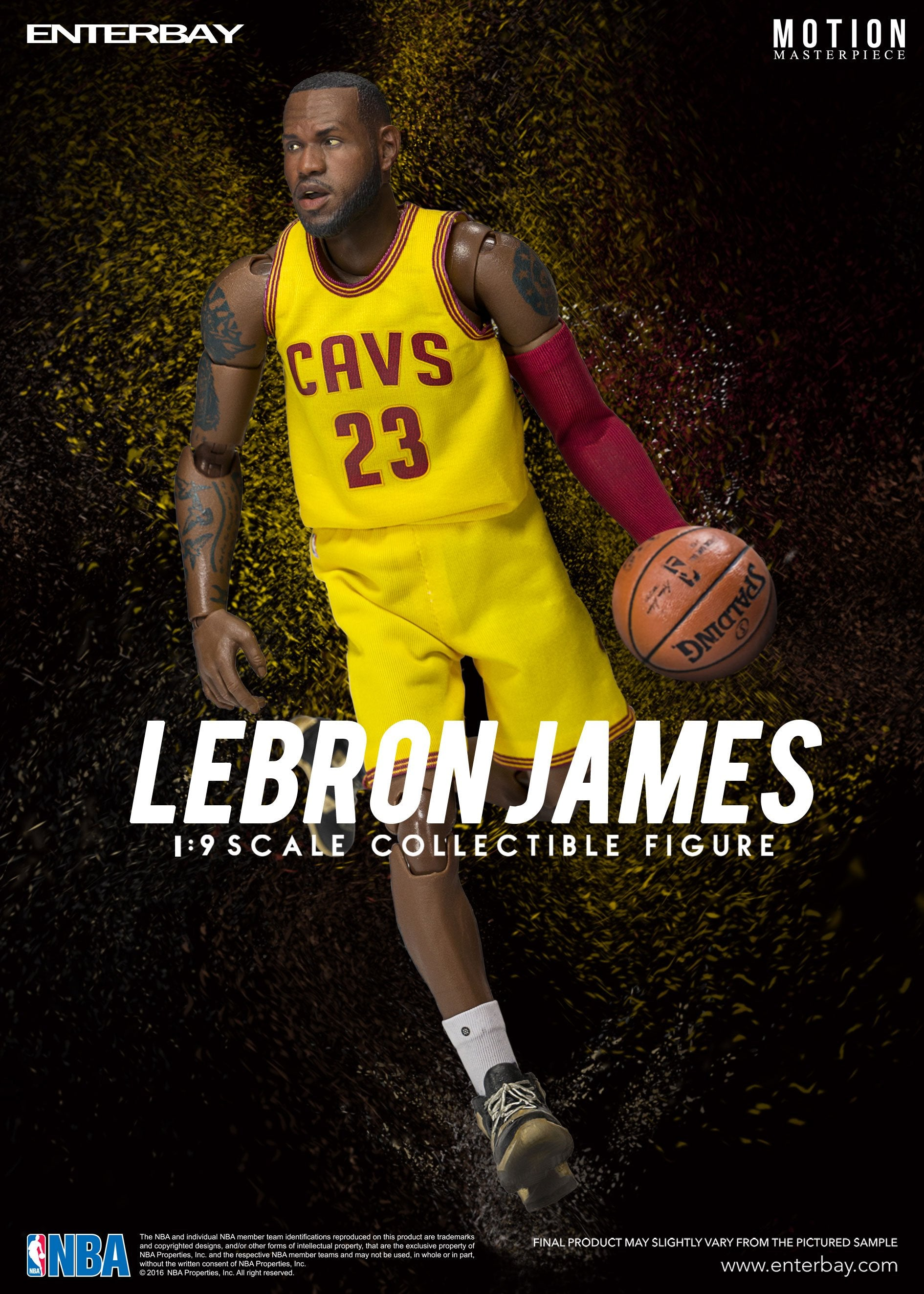 ENTERBAY 1/9 Lebron James Action Figure