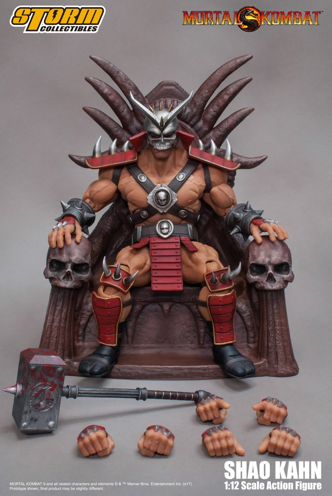 STREET FIGHTER V - SHAO KAHN - MORTAL KOMBAT ACTION FIGURE