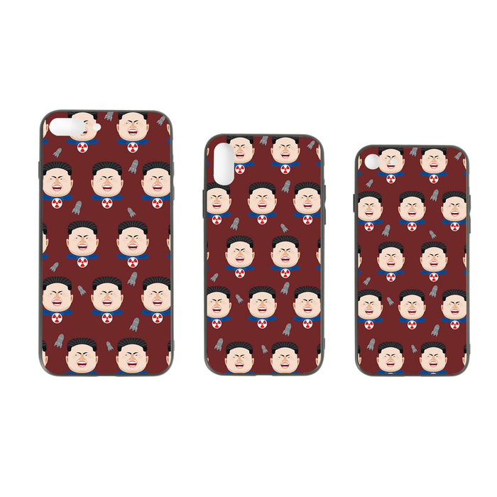 Super Kim #4, the Leadershit series iPhone Case