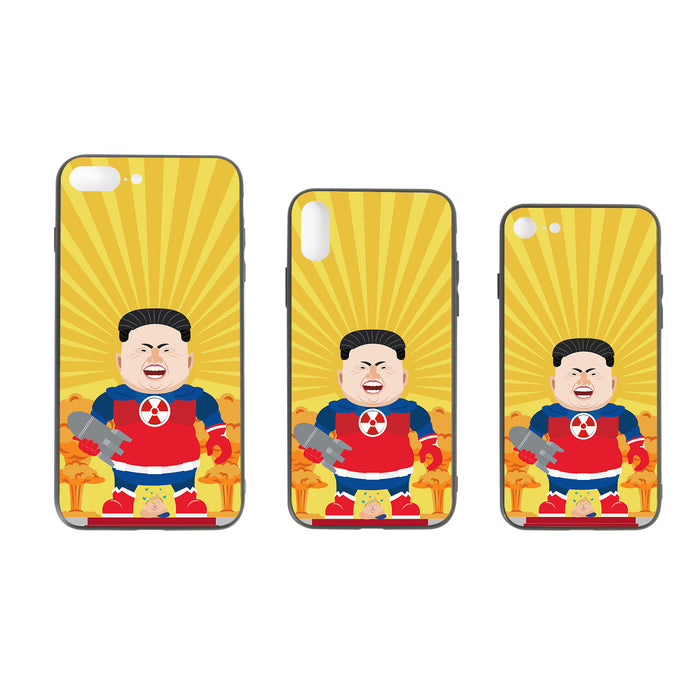 Super Kim #5, the Leadershit series iPhone Case