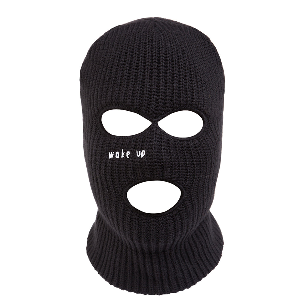Black Wake Up Balaclava