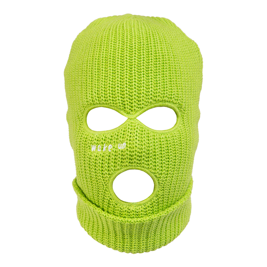 Lime Wake Up Balaclava