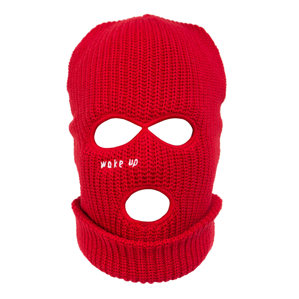 Red Wake Up Balaclava