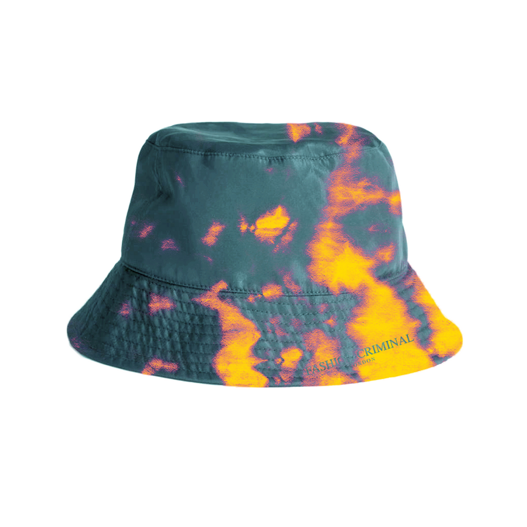 Fire Blue Bucket Hat