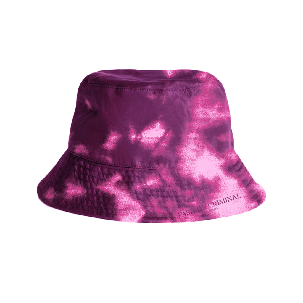 Trippy Pink Bucket Hat