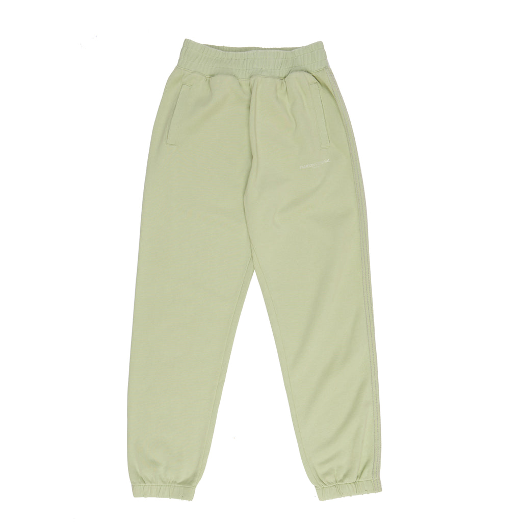 Linen Green Sweatpants