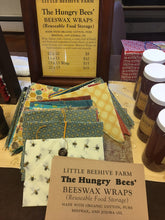 Beeswax Wraps - Honeybees