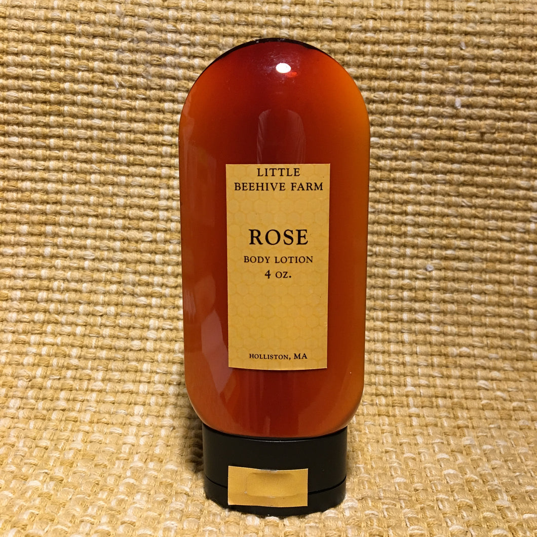 Body Lotion - Rose - 4 oz.