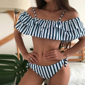 Fancinating Women Padded Bra Beach Bikini Swimsuit