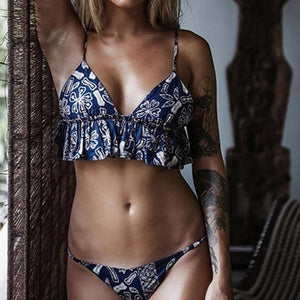 Fantastic Women Swimwear Bikini Set Bandage