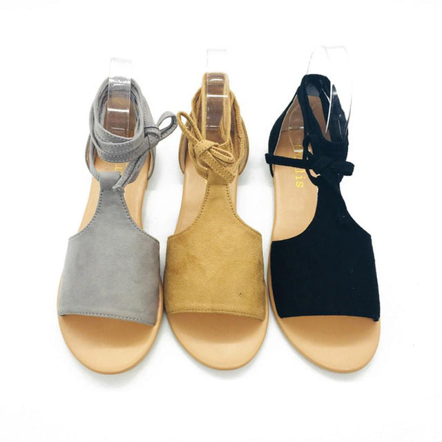 Women Footwear Rome Casual Flat Ankle Beach Shoes