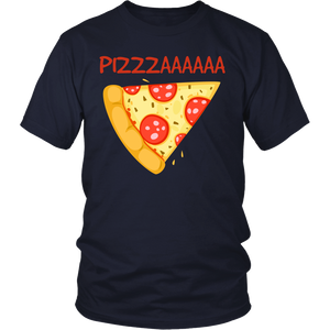 "All Woman Brands ""Pizza Lover"" Funny Unisex T-shirt, Small - 4XL"