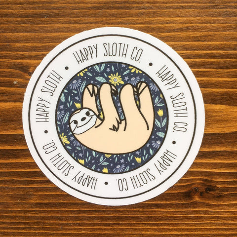 Happy Sloth Co. Floral Sticker Pack