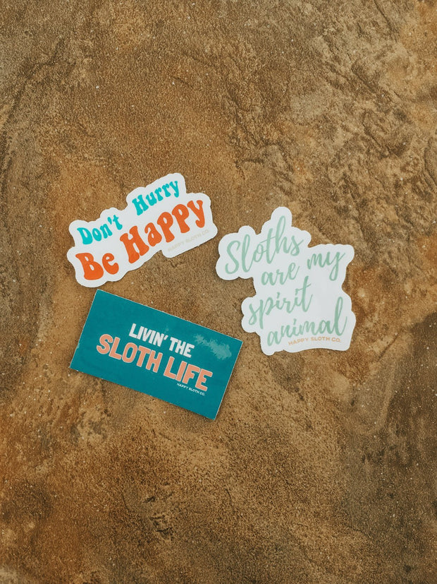 Sloth Life Sticker Pack