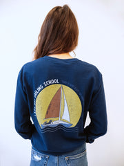Lazy Day Sailing Sloth Long Sleeve