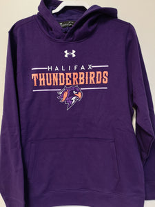 Thunderbirds Under Armour Purple Hoodie