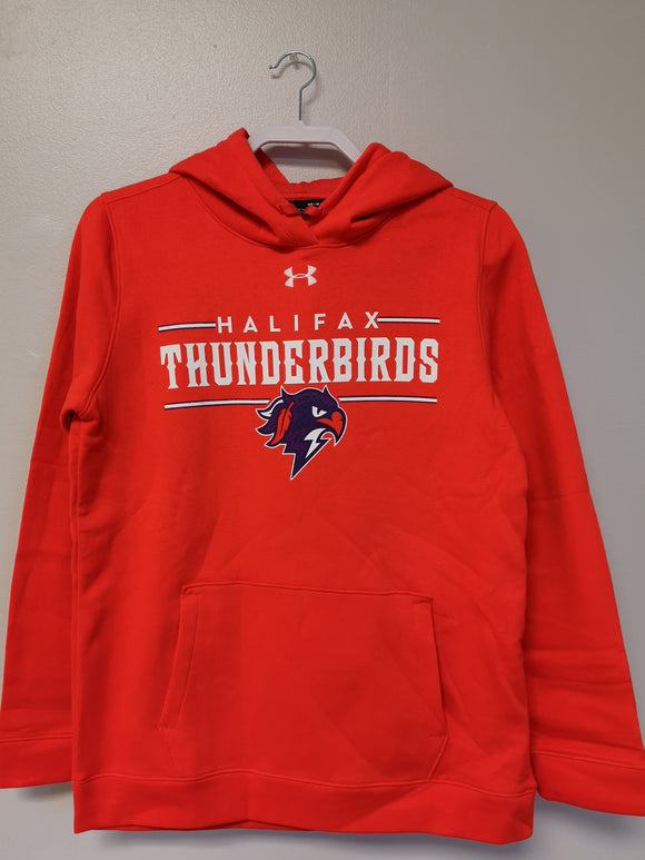 Thunderbirds Ladies Under Armour Orange Hoodie