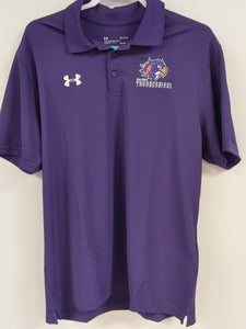 Under Armour Mens Polo Purple
