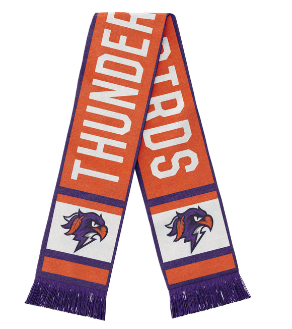Bardown x Thunderbirds Knitted Scarf