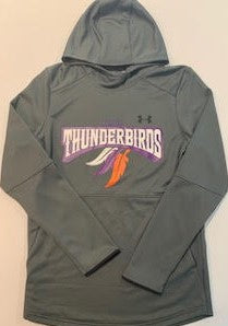 Thunderbirds Under Armour Pitch Grey Hoodie