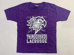 "Thunderbirds Youth ""Electric"" Purple Tee"