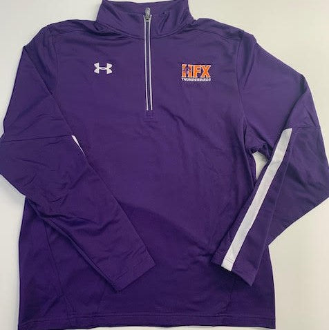 Thunderbirds Under Armour Purple 1/4 zip