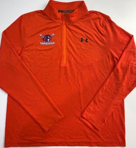 Thunderbirds Under Armour Orange 1/2 zip
