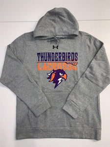 Thunderbirds Under Armour Heather Grey Hoodie