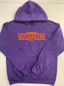 "Thunderbirds ""Every Day"" Purple Hoodie"