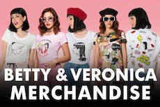 betty & veronic merchandise