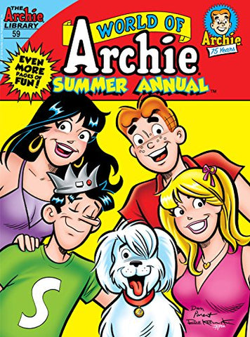 World of Archie Summer Annual Comics Digest #59