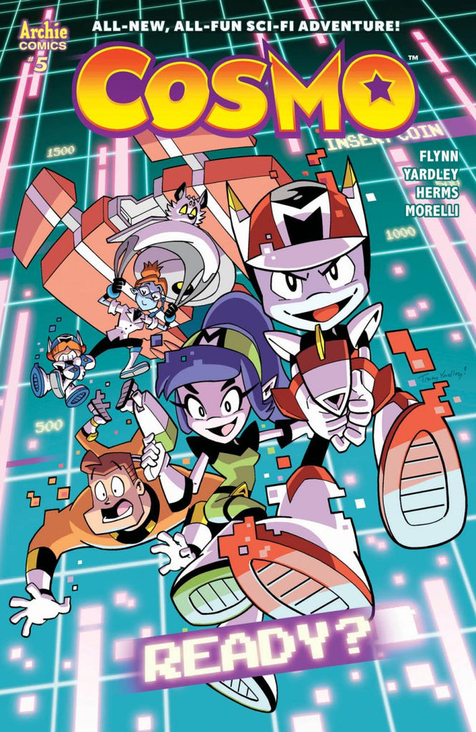 Cosmo and his crew are cornered in this early preview of