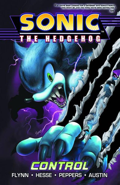 Sonic the Hedgehog TP Volume 04 Control