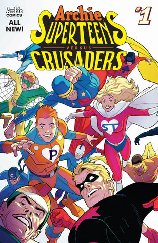 Archie Super Teens VS Crusaders 2 Issue Mini-Series Subscription