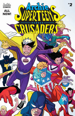 Archie Superteens Versus Crusaders #2