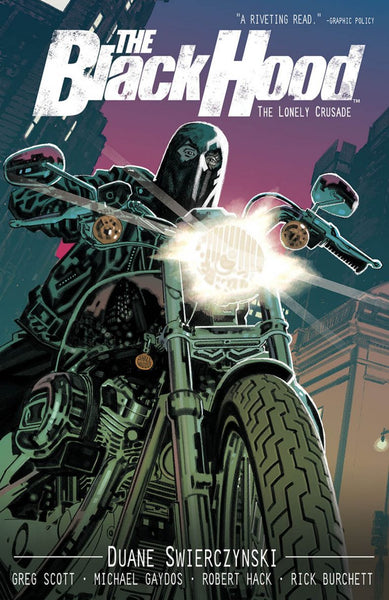 The Black Hood Volume 2 The Lonely Crusade