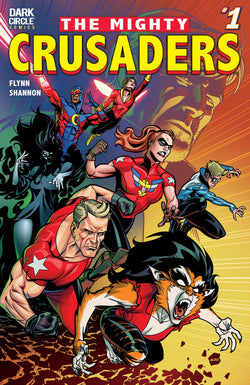 The Mighty Crusaders Subscription (New Title By The Sonic Creative Team!)