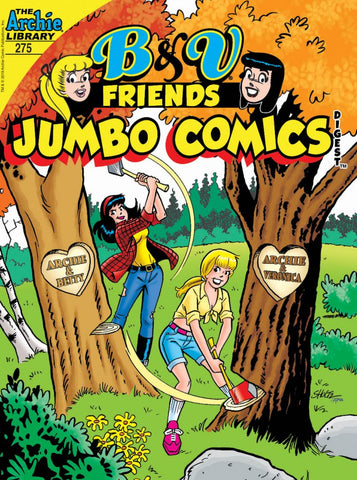 B&V and Friends Jumbo Comics Digest #275