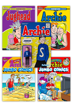 Jughead Digest & ReAction Figure Bundle!