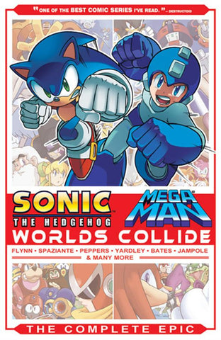 Sonic / Mega Man: Worlds Collide - The Complete Epic