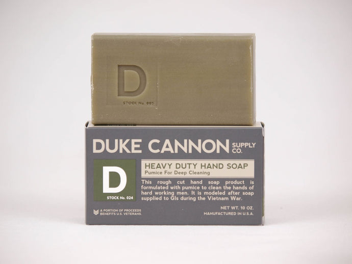 Duke Cannon Soap ~ Heavy Duty Hand Soap