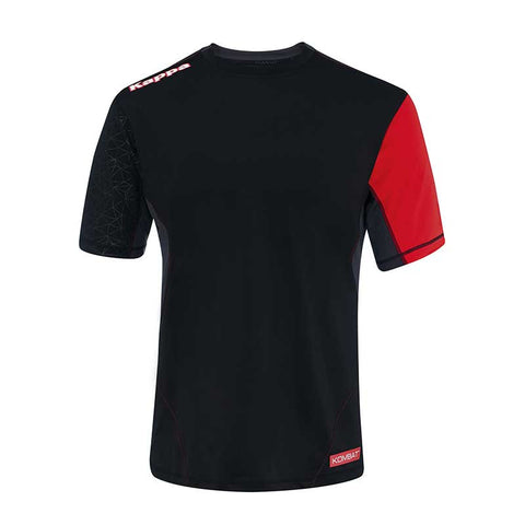 Kappa Kombat Technical Short Sleeve Compression Shirt