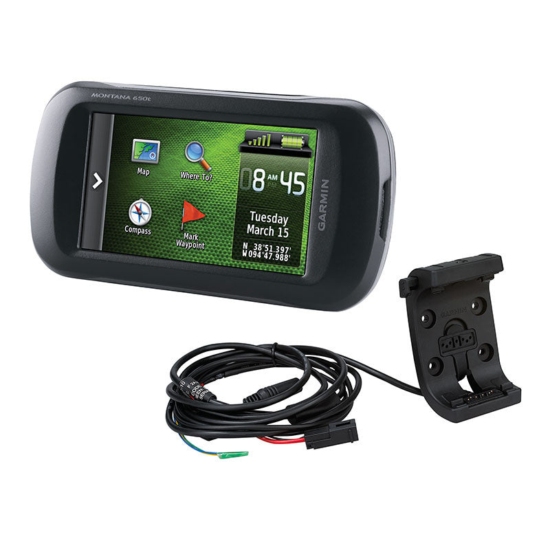 Canadian Map For Garmin Montana 680t Gps Mcintosh Power Leisure