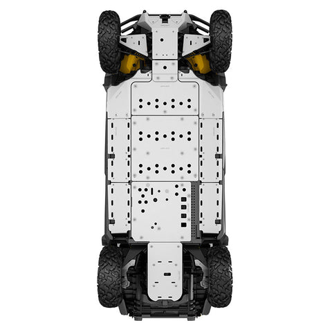 715001640/715003128 Aluminum Rear Lateral Skid Plates - Maverick