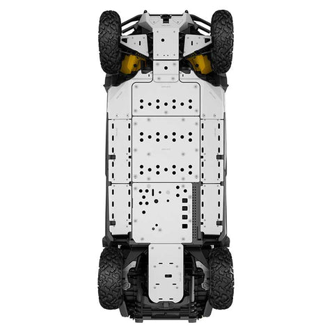 Aluminum Front Central Skid Plate*