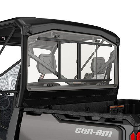 Rear Glass Window with Sliding Panel - Defender*