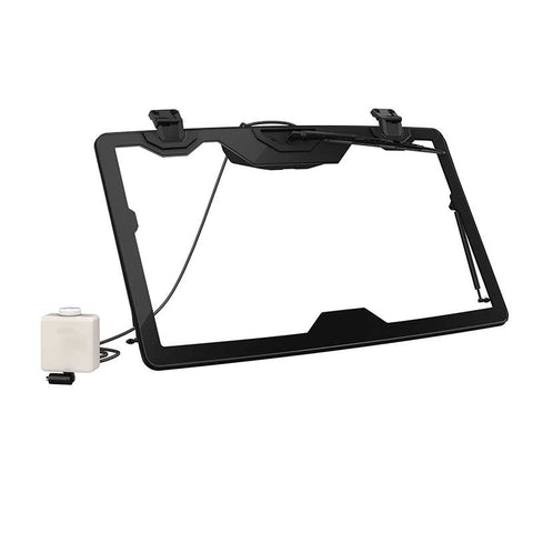 Flip Glass Windshield With Wiper and Washer Kit*