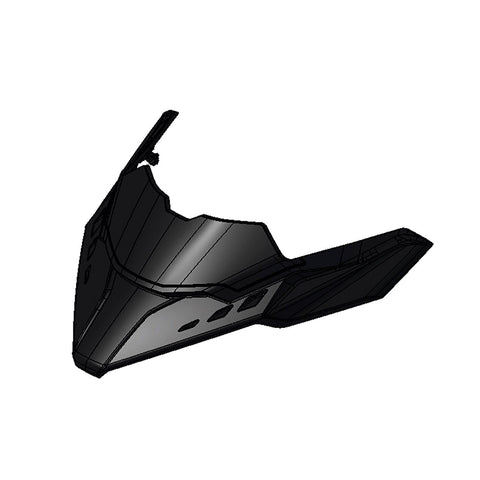 Central Deflector - (REV Gen4, for ultra low & low windshields)*