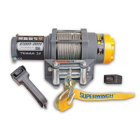 Can-Am HD 3500 Winch**